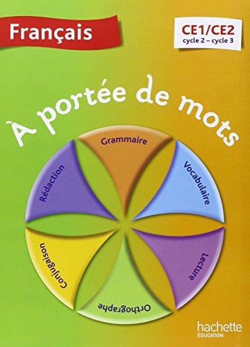 A portee de mots francais ce1 ce2 guide pedagogique for A portee de mots ce2