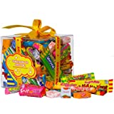 The Original Retro Chewy Sweets Gift Cube - Great Birthday Gift or Present For Any Occasion