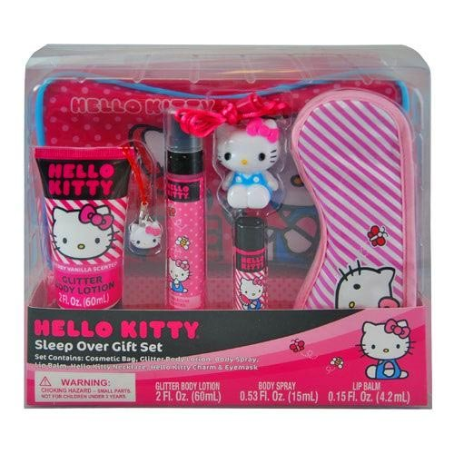 Hello-Kitty-Sleep-Over-Gift-Set-Popular-Cute-in-Box
