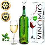 VINOMIO™ Wine Chiller ★ Chills all White, Red and Sparkling Wines to Perfection ★ Get Yours NOW! ★ With 2 FREE eBooks to help you become a True Wine Expert ★ 100% Money Back Guarantee ★