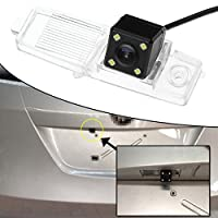 4 LED Car Rear View Camera Reverse Backup CCD for Volkswagen Passat 2012-2014