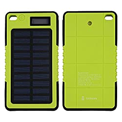 Tarkan 5000 mAh Rugged Solar Power Bank [With Advanced IC Protection Chip]