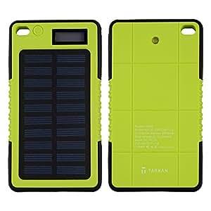 Tarkan 5000 mAh Rugged Solar Power Bank [With Advanced IC Protection Chip]