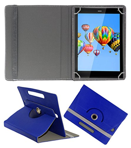 ACM ROTATING 360° LEATHER FLIP CASE FOR DIGIFLIP PRO XT811 TABLET STAND COVER HOLDER DARK BLUE  available at amazon for Rs.159