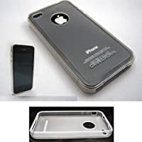 Clear Iphone Apple 4 4S Case Soft Cover Back Protector Skin Casecrown New At&T !