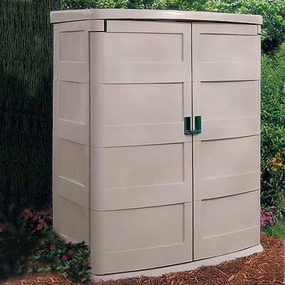Suncast GS4000 Vertical Garden Shed, 60-cubic ft