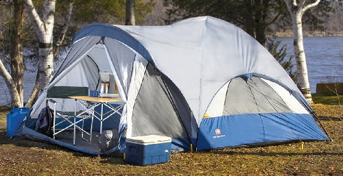 Technical Details & Tents for two: Swiss Gear® 17x13u0027 Family Dome Tent