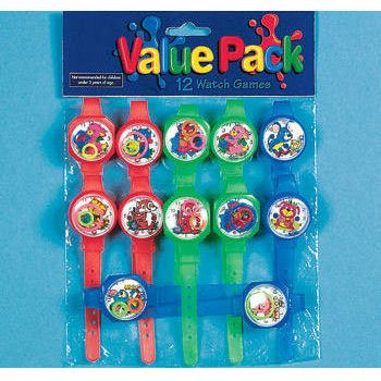 Watch Game Assortment Games and Activities (12 per package) - 1