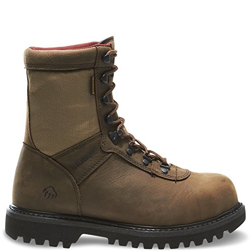 Men's Wolverine® Big Horn Insulated Waterproof Steel-Toe 8