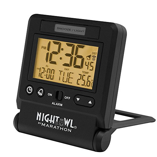 digital atomic alarm clock atomic alarm clocks top clocks com. Black Bedroom Furniture Sets. Home Design Ideas