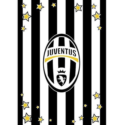 Coperta plaid invernale in pile Juve Juventus ufficiale 160x240 L823