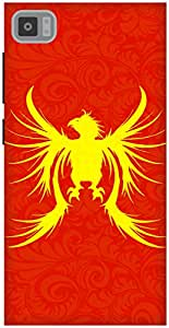 The Racoon Grip Phoenix hard plastic printed back case / cover for Xiaomi Mi3