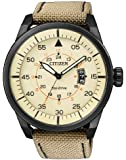 Citizen Herren-Armbanduhr XL Analog Quarz Textil AW1365-19P
