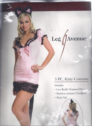 Costume: 3 Pc Kitty Women's M/L