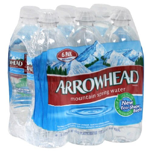 Arrowhead Water Spring 0.5 Lt (Pack Of 4)
