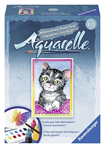 Ravensburger Aquarelle Cat - Arts & Crafts Kit Playset