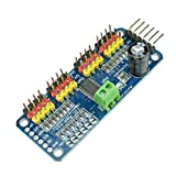 16 Channel PWM/Servo Driver IIC interface-PCA9685 for arduino or Raspberry pi shield module servo shield