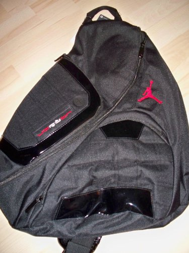 sale retailer 3aa63 bd6b1 Nike Jordan Jumpman Elite Sling Back Pack Gym Bag New
