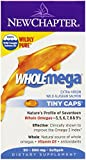 New Chapter Wholemega Tiny Caps, 90 Softgels