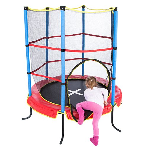 Ultrasport Kindertrampolin Indoortrampolin Jumper 140 - 4
