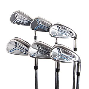 New Adams IDEA a7OS Irons 6-PW,SW w/ Uniflex Shafts