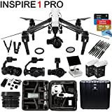 DJI Inspire 1 PRO Bundle with Zemuse X5 4K Camera + 2 Batteries + Professional Hard Case + 64GB Extreme MicroSD Card and more...
