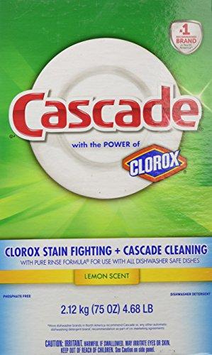 Cascade Powder Dishwasher Detergent, Lemon Scent 75 Oz (Cascade Dishwashing Powder compare prices)