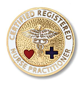 Prestige Medical Emblem Pin, Registered Nurse Practitioner (Certified)
