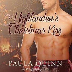 A Highlander's Christmas Kiss Audiobook