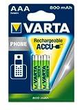 Varta Phone Power T398 Micro AAA x 2 800 mAh