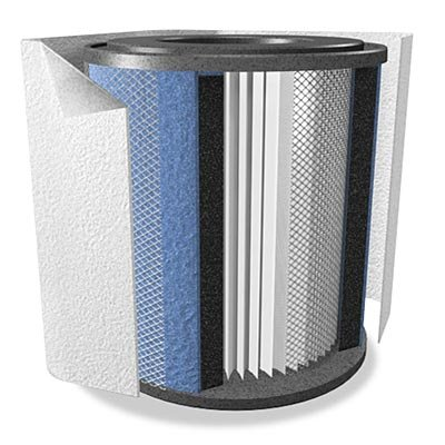 Cheap Repl Filter Austin Air Bedroom Machine-White (FR402B)