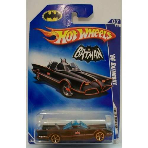 1 X 2009 Hot Wheels '66 Batmobile 07/10