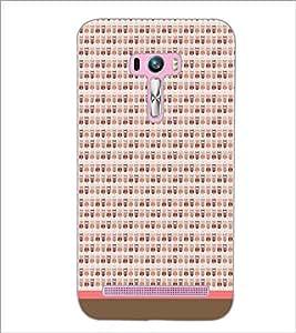 PrintDhaba Owl Pattern D-1704 Back Case Cover for ASUS ZENFONE SELFIE ZD551KL (Multi-Coloured)