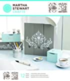 "Plaid:Craft  Martha Stewart Medium Stencils 2 Sheets/Pkg-Flourish 8.75""X9.75"" 12 Designs"