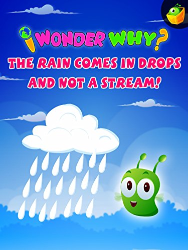 I Wonder Why? The Rain Comes In Drops And Not A Stream!
