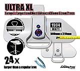 Dampfbügelpresse Ultra XL mit Ständer von Speedypress - Die Größte