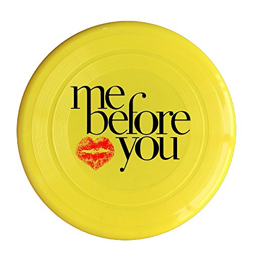 YQUE56 Unisex Me Before Film You Love Your Lips Outdoor Game Frisbee Sport Disc Yellow