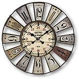 Horloge bistro de paris cuisine maison for Horloge murale 80 cm