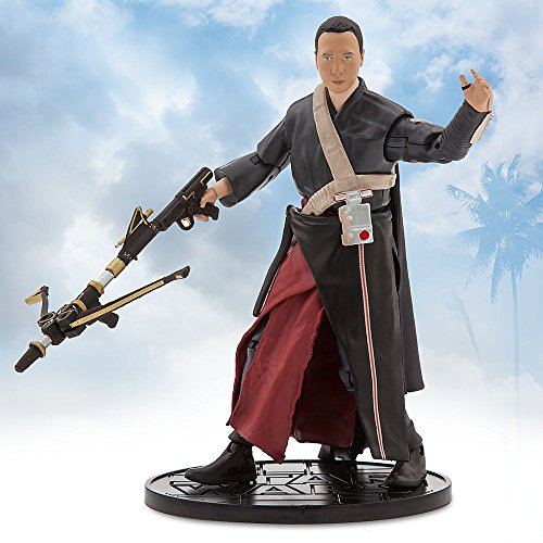 Star Wars Chirrut Imwe Elite Series Die Cast Action Figure - 6.5 Inches - Rogue One: A Star Wars Story