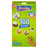 Spontex Multi-Purpose Super Disposable Gloves (Pack of 100)