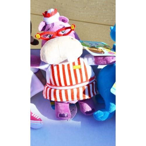 Disney Jr Doc McStuffins Hallie Hippo Bean Bag Plush Doll