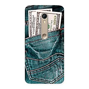 Special Dollars Jeans Back Case Cover for Motorola Moto X Style