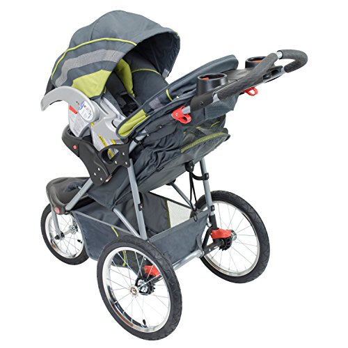 Baby Trend Expedition Jogger Stroller, Carbon