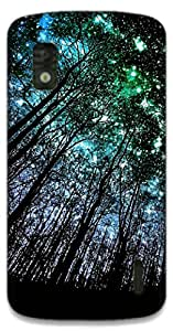 The Racoon Grip Night Full of Stars hard plastic printed back case / cover for LG Nexus 4