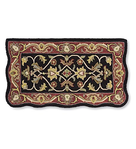 hand-tufted-fire-resistant-scalloped-wool-hearth-rug-in-black-red