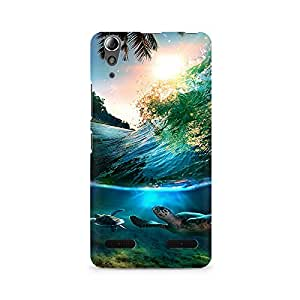 Mobicture Tortoises Premium Printed Case For Lenovo A6000