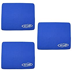 Storite Blue (3 Pack) 3mm Thickness Speed Rubber Mouse Pad 1030 Skid Resistant Surface