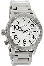 Nixon 42-20 Watch - Men's White, One Size