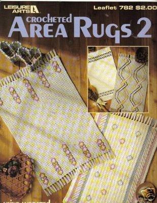 Crocheted Area Rugs 2 (Leisure Arts Leaflet #782)