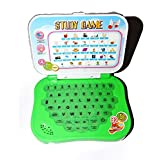Motoway Plastic ABC And 123 Learning Kids Mini Laptop Study Game